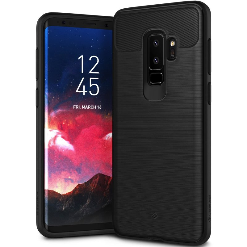 huge discount 68702 b8587 Samsung Galaxy S9 Plus Caseology Vault Cover Black