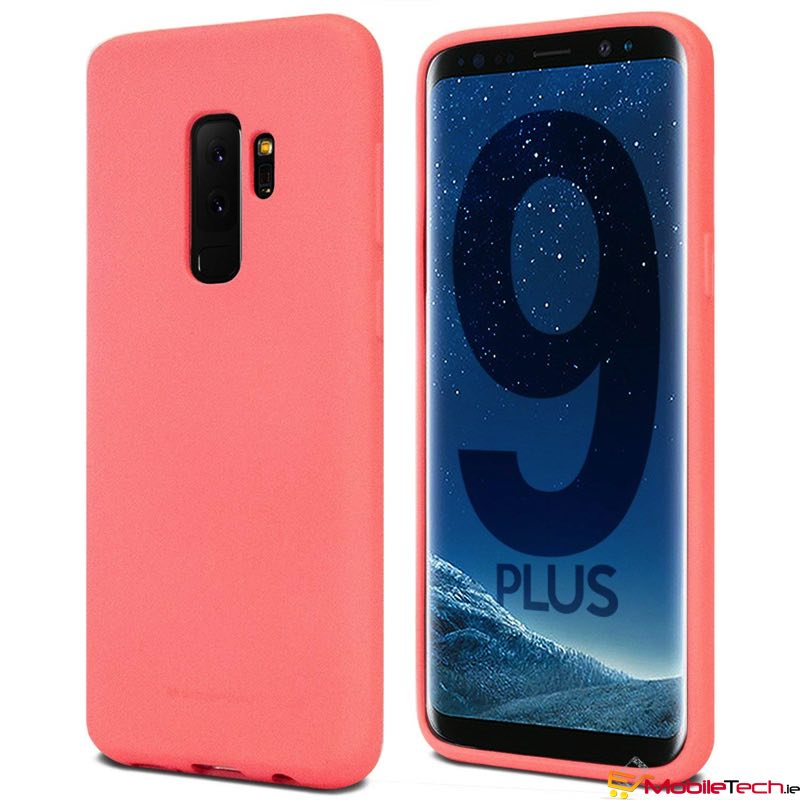 mobiletech-Samsung-Galaxy-S9-Plus-Soft-Feeling-Cover-Flamingo