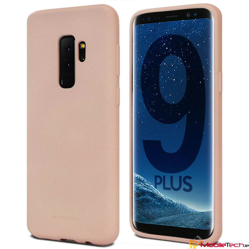 mobiletech-Samsung-Galaxy-S9-Plus-Soft-Feeling-Cover-PinkSand