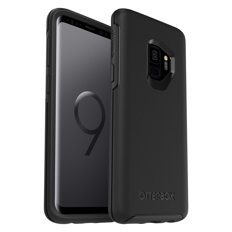 newest 07a85 12df0 Samsung Galaxy S9 OtterBox Symmetry Series Case Black