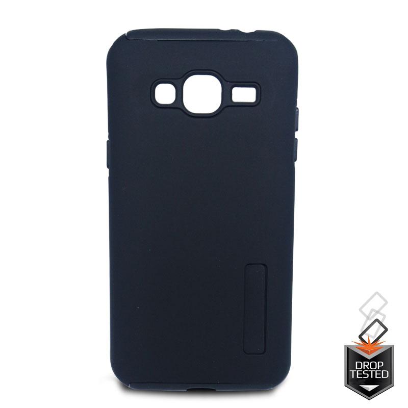 half off 9a832 e8ccc Samsung Galaxy J3(2016) Dual Layer Case Black