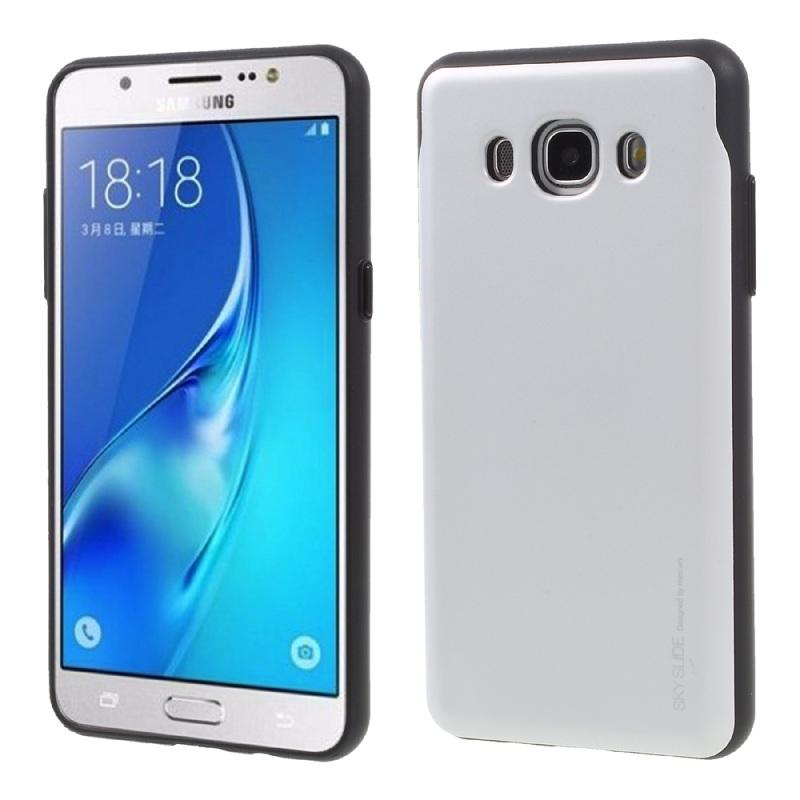 innovative design 40a64 11dac Samsung Galaxy J5(2016) Sky Slide Bumper Case Silver