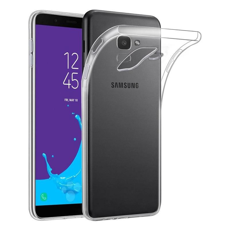 watch 4e863 c03b9 Samsung Galaxy J6 Plus (2018) Silicon Clear TPU Case