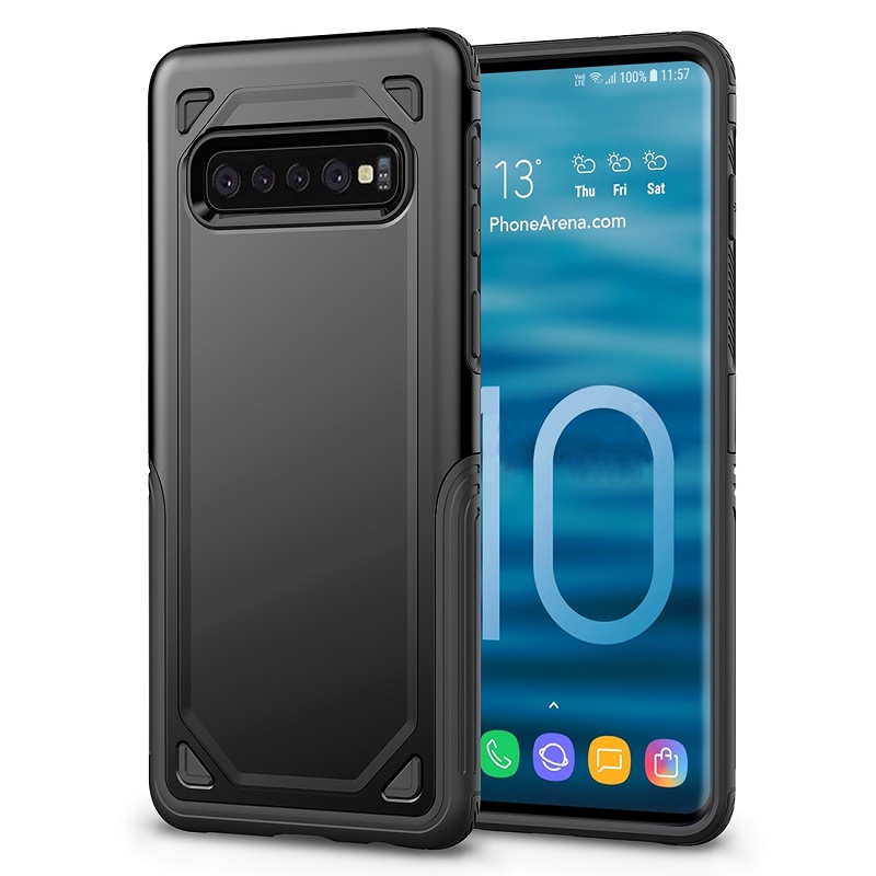 mobiletech-samsung-galaxy-S10 Plus-shockproof-case-black