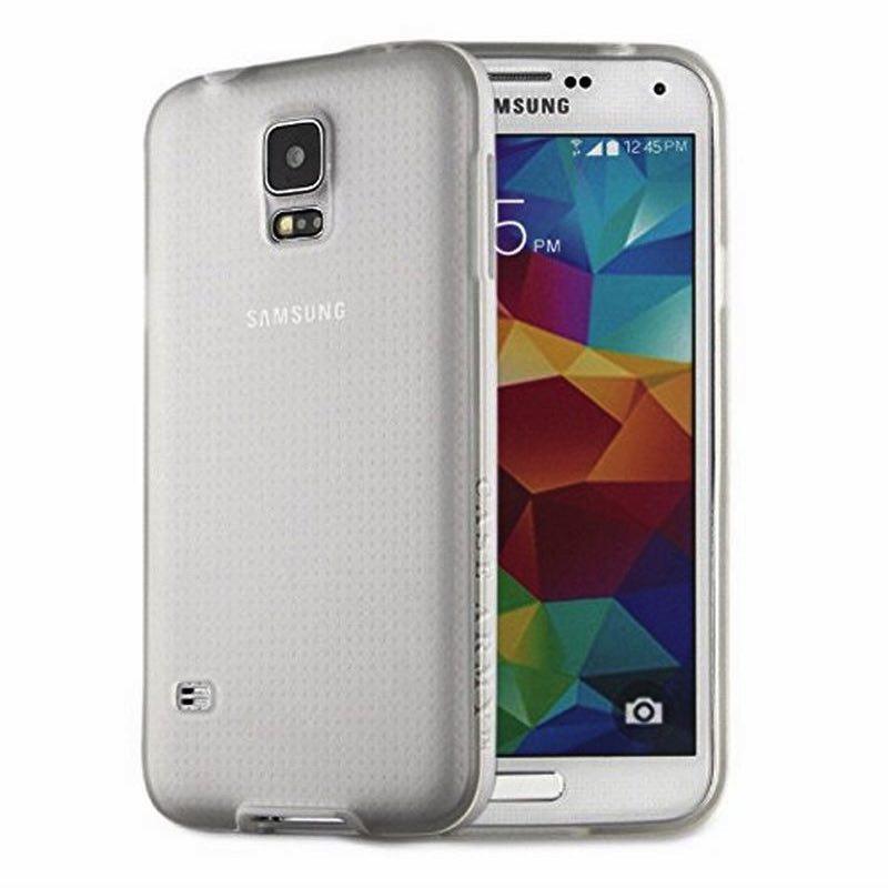 Samsung Galaxy S5 Silicon Case Clear