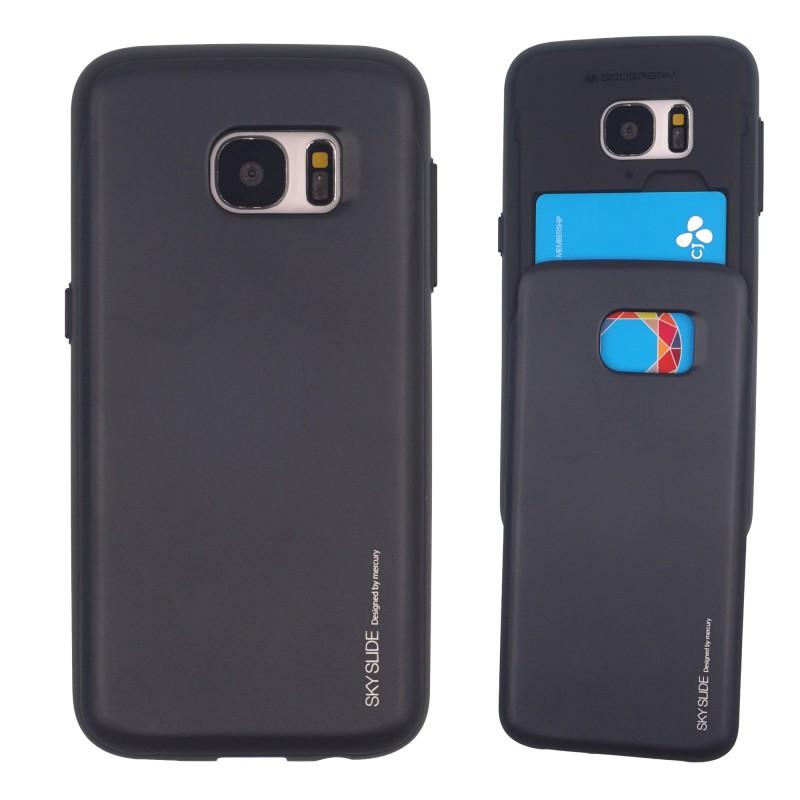 Samsung Galaxy S6 Sky Slide Bumper Case Black -