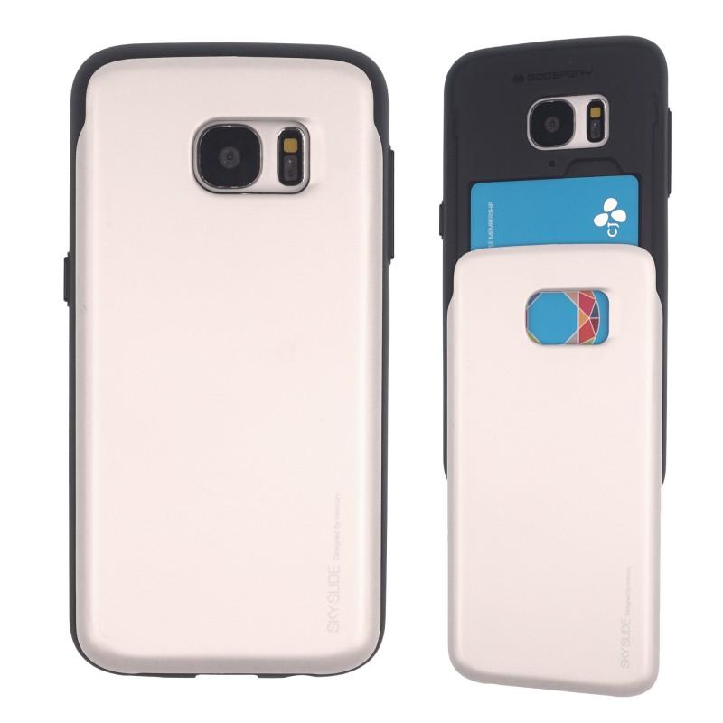 newest ecee1 ed034 Samsung Galaxy S6 Sky Slide Bumper Case Silver