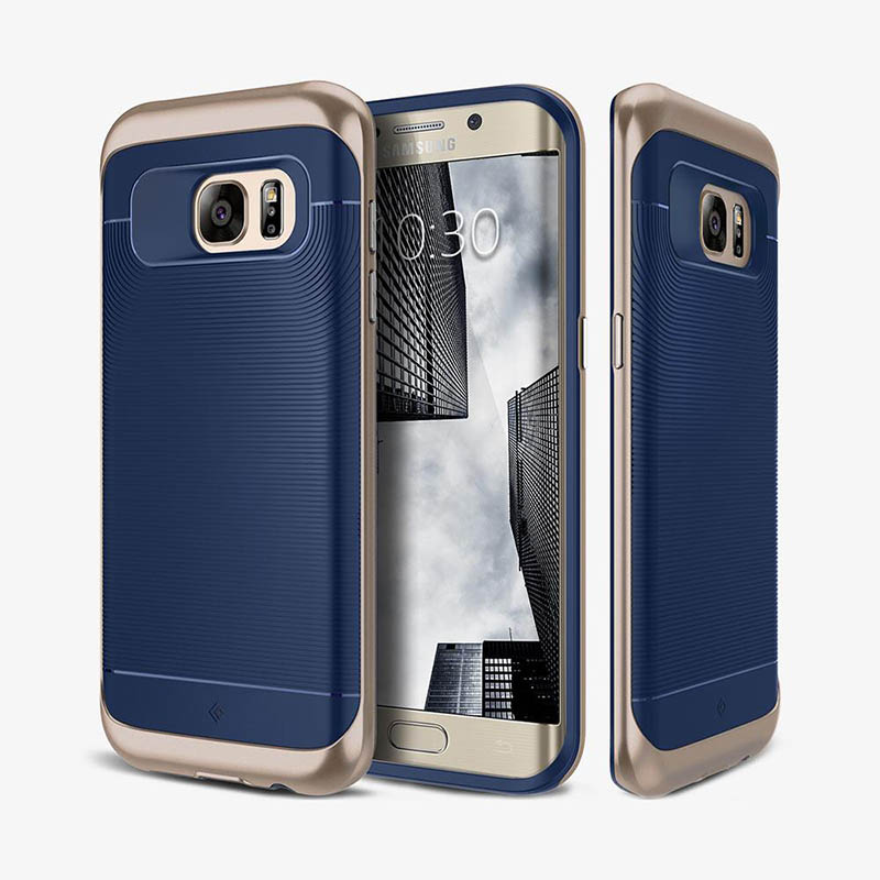 new concept 7cb31 58438 Samsung Galaxy S7 Edge Caseology Wavelength Series Case - Navy Blue