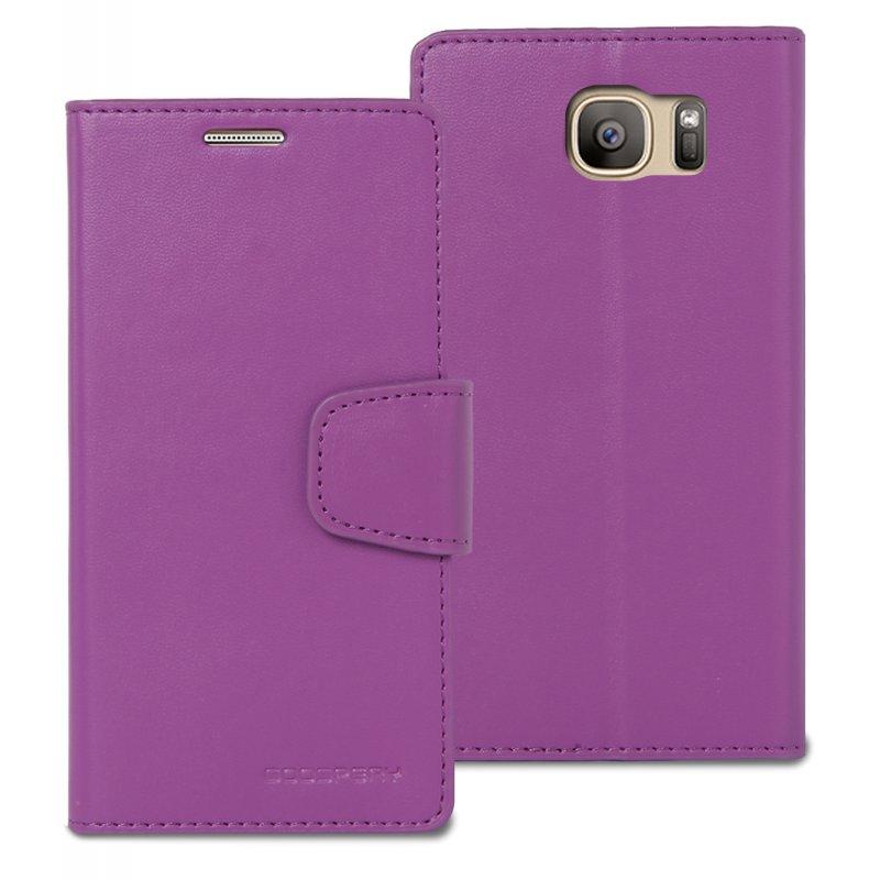 buy online 00526 2bb04 Samsung Galaxy S7 Edge Sonata Wallet Case Purple