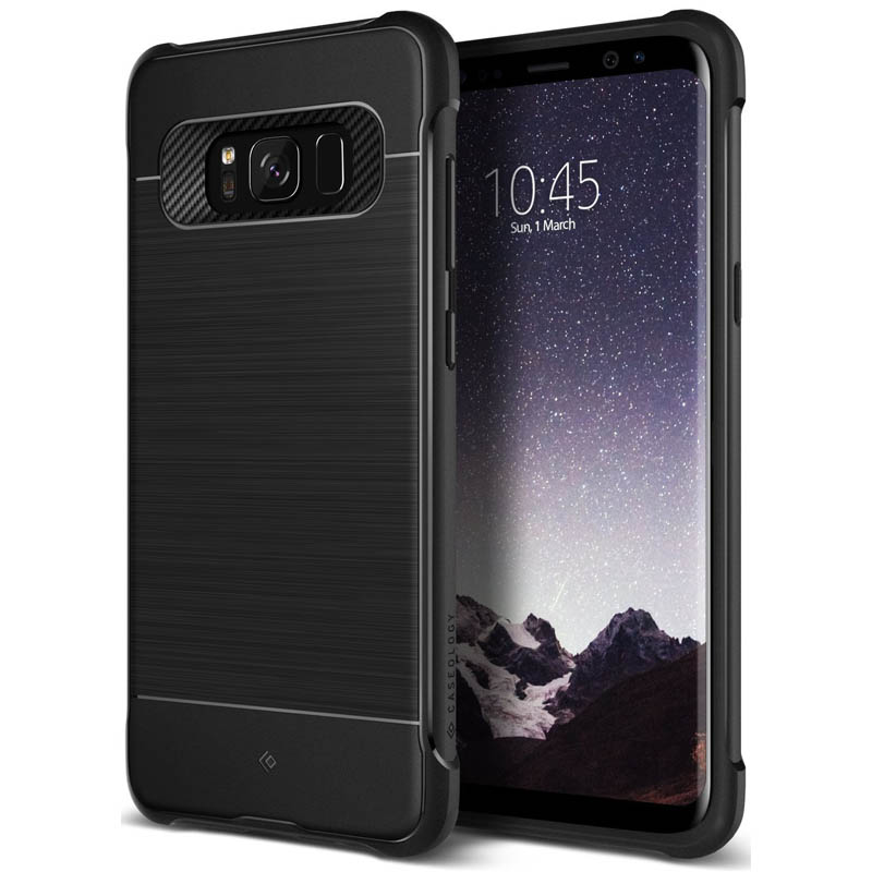 cheap for discount 0bde6 e806d Samsung Galaxy S8 Plus Caseology Vault I Series Case - Black