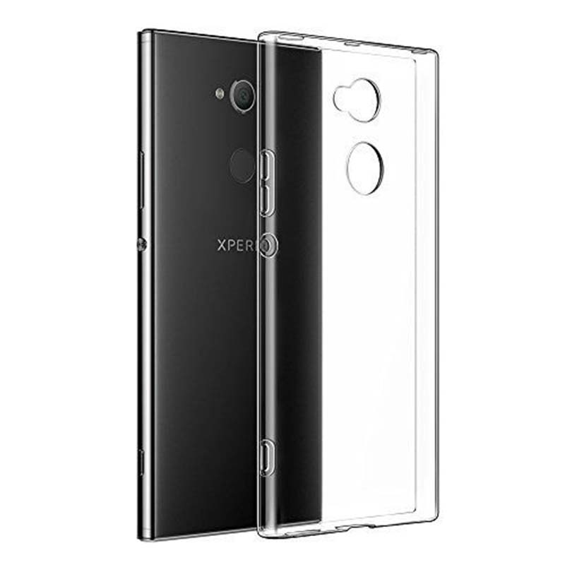 mobiletech-sony-xa2-silicon-cover-clear