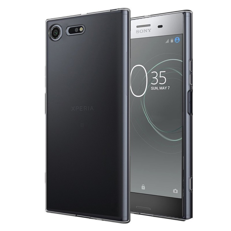 official photos 6c5b9 bae5f Sony Xperia XZ Premium Silicon Clear Case