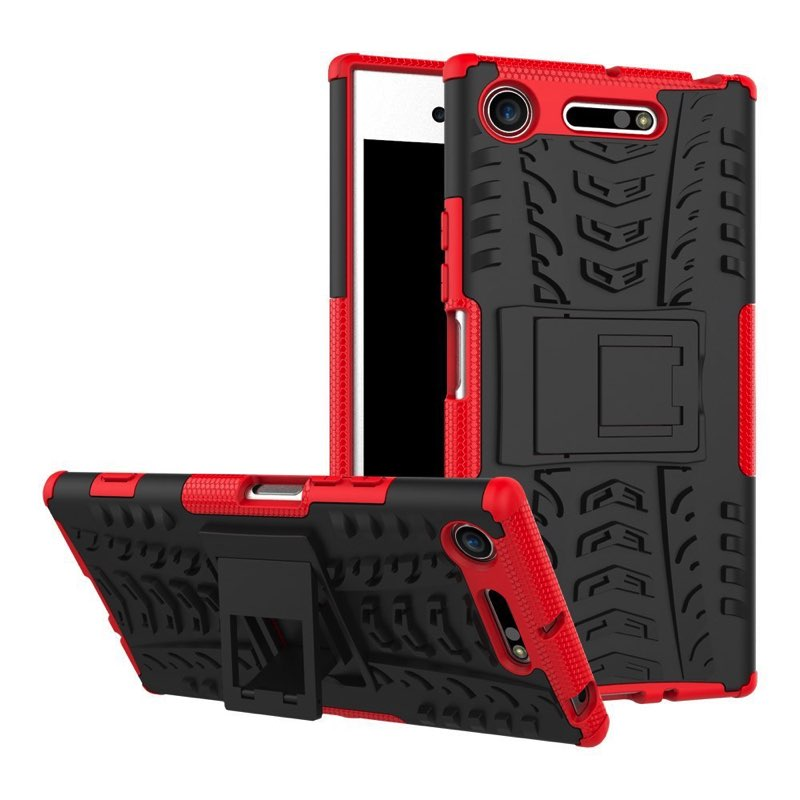 best sneakers d1dc9 0fd10 Sony Xperia XZ1 Compact Tyre Defender Cover Red