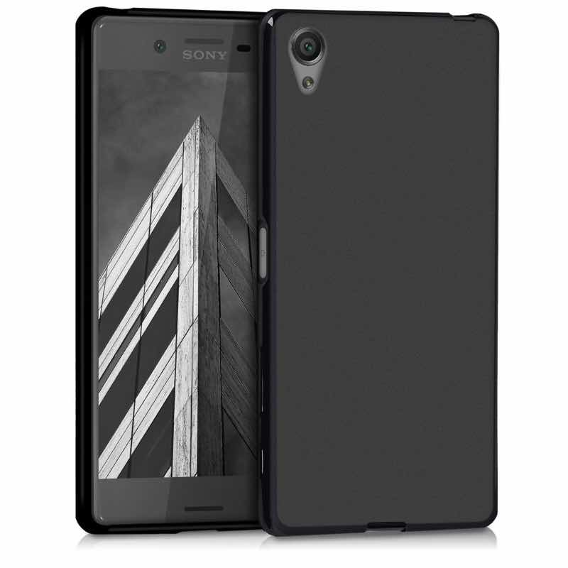 new product ccf2f c4788 Sony Xperia X Silicon Case Black