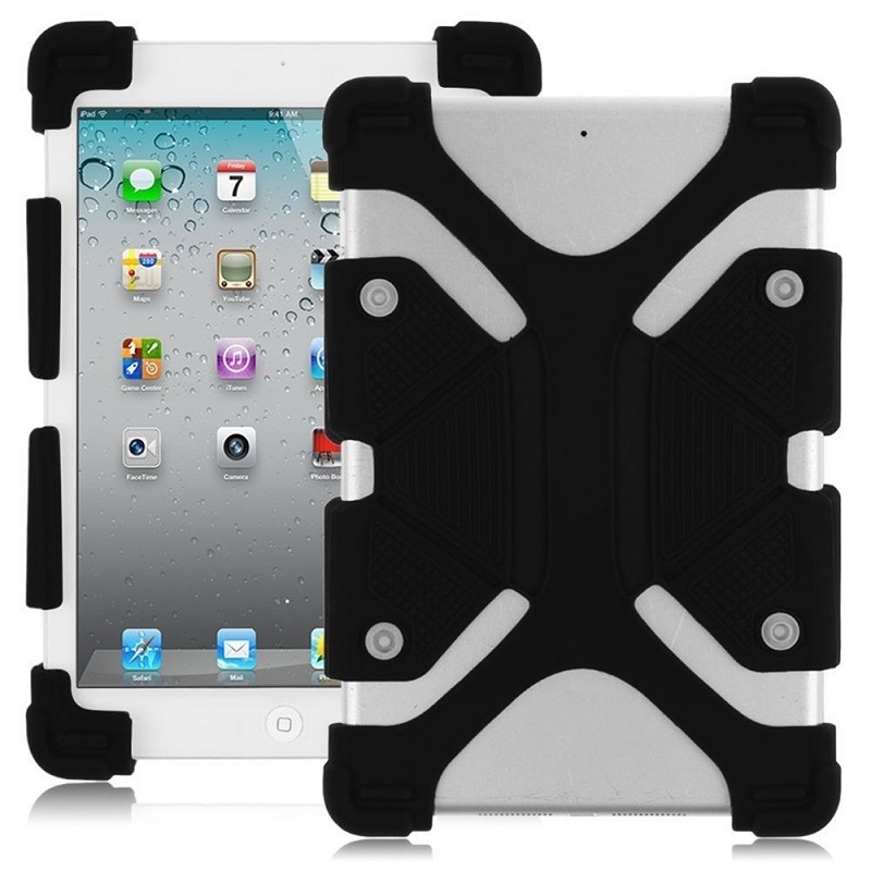 Universal-8.9-12-inch-Soft-Silicone-Rubber-Shockproof-Stand-Skin-Case-Black