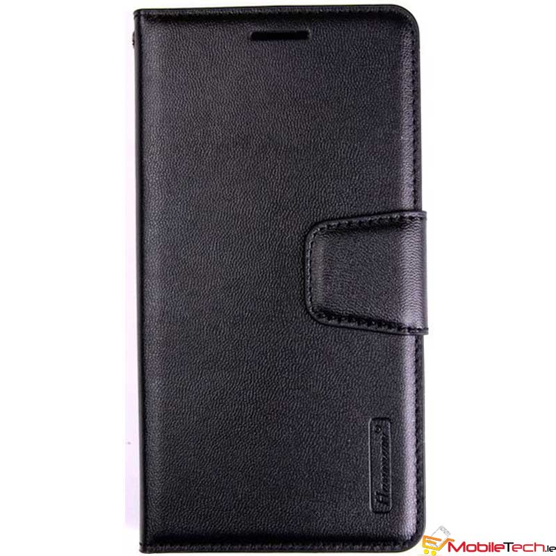 iPhone XR Case Hanman Wallet Cover Black