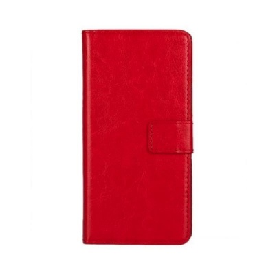 Samsung Galaxy A3(2015) PU Leather Wallet Case Red