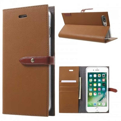 iPhone SE/5S/5 Romance Diary Case Brown