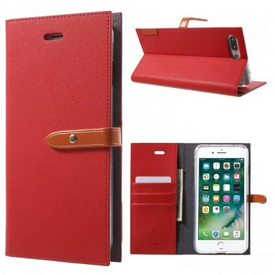 iPhone SE/5S/5 Romance Diary Case Red