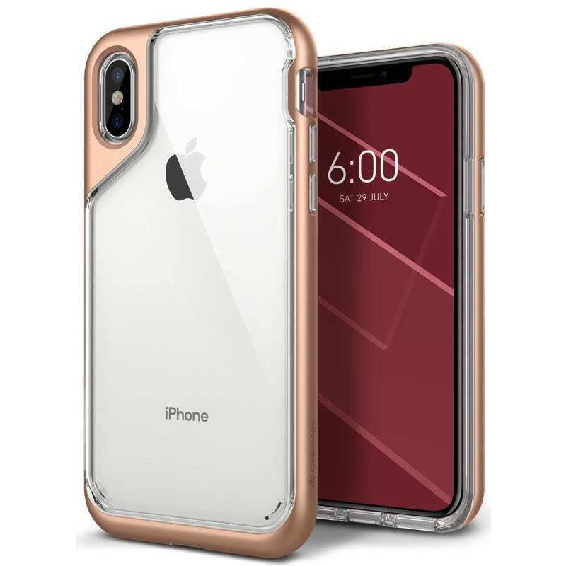 iPhone X Caseology Skyfall Case Gold