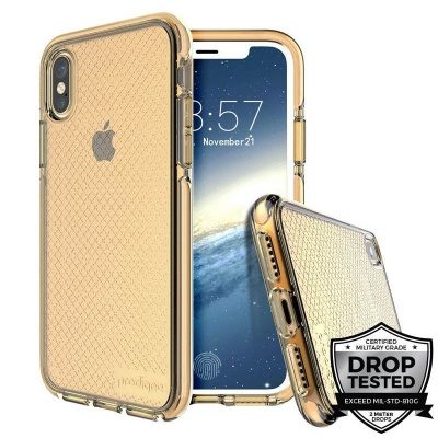 iPhone X Case Prodigee Safetee Series Gold