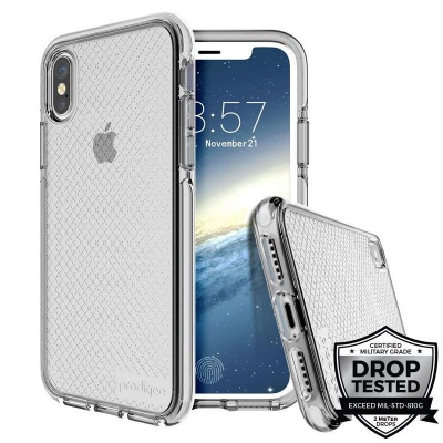 iPhone X Prodigee Safetee Series Cover Silver