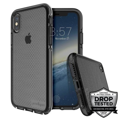 iPhone X Prodigee Safetee Series Cover Smoke