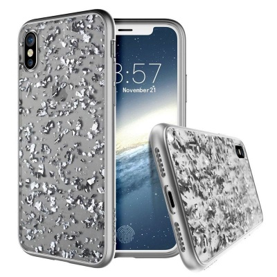 iPhone X Case Prodigee Scene Treasure Silver
