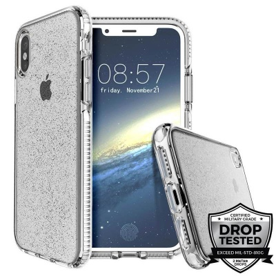 iPhone X Case Prodigee Super Star White