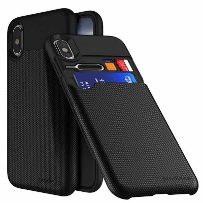 iPhone X Case Prodigee Undercover Black