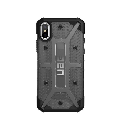 iPhone X Case UAG Plasma Feather-Light Case Ash