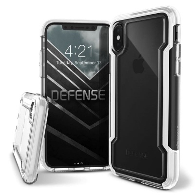 iPhone X  Defense Clear White