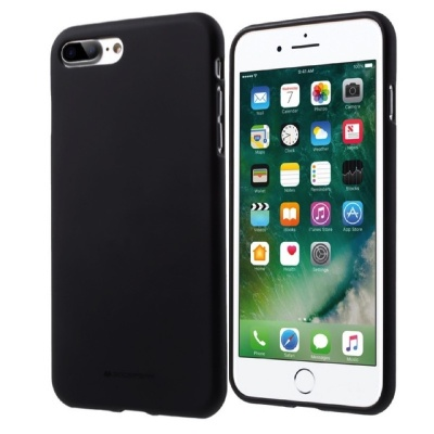 iPhone 8/7 Plus Goospery Soft Feeling Case Black
