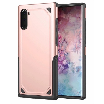 Samsung Galaxy Note 10 Plus Protective Hybrid Shockproof Case | Rosegold