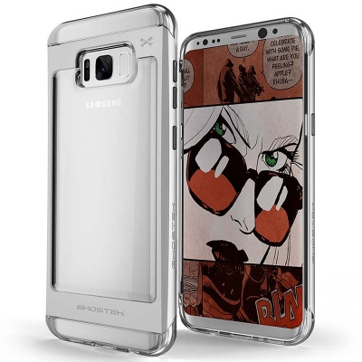Samsung Galaxy S8  Ghostek Cloak 2 Series Case Silver