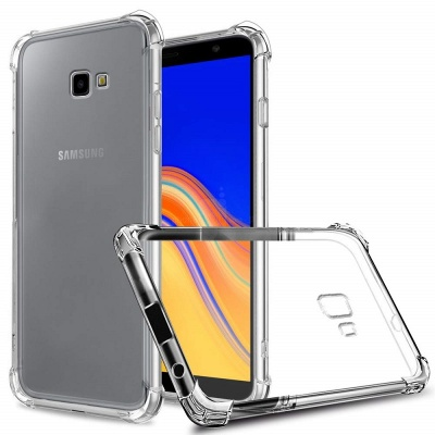 Samsung Galaxy J4 Plus Super Protect Anti Knock Clear Case
