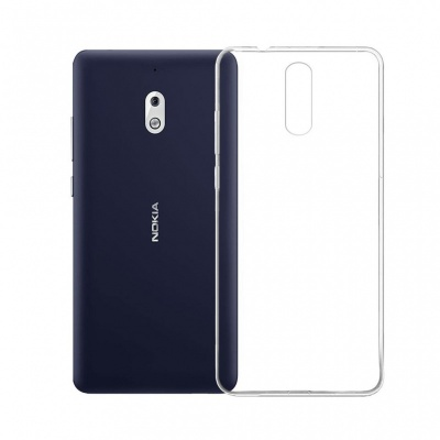 Nokia 2.1 Silicon Clear Case