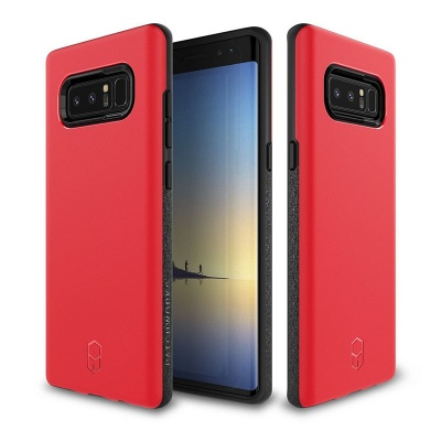 Samsung Galaxy Note 8 Patchworks LEVEL ITG  Series Cover Red/Black