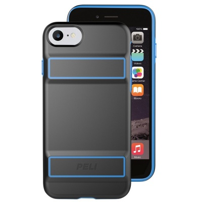 iPhone SE (2nd Gen) and iPhone 7/8 Case Peli Guardian slim 2 Layer drop protection Black/Electric Blue