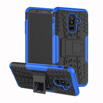 Samsung Galaxy A6(2018) Tyre Defender Cover Blue