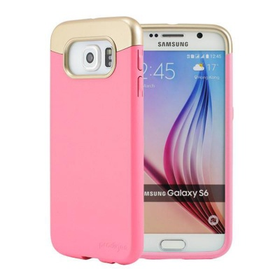 Samsung Galaxy S6 Prodigee Accent Series Cover Blush/Gold