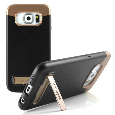 Samsung Galaxy S6 Prodigee  Kick Slider  Series Cover Black/RoseGold
