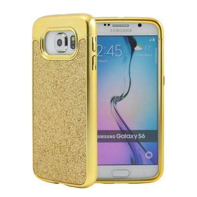 Samsung Galaxy S6 Prodigee Sparkle Fusion Cover Gold