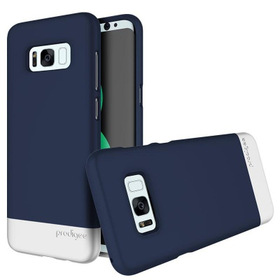 Samsung Galaxy S8 Plus Prodigee Accent Series Navy/Silver