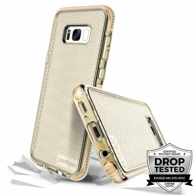 Samsung Galaxy S8 Prodigee Safetee Series Cover Gold