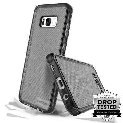 Samsung Galaxy S8 Prodigee Safetee Series Cover Smoke