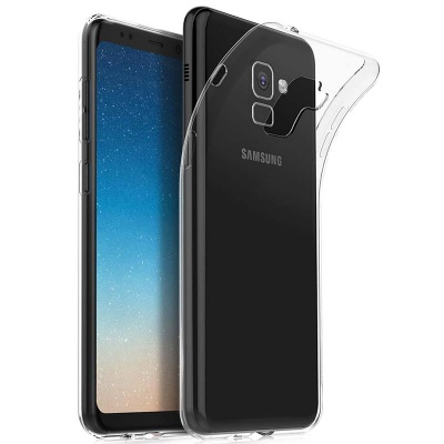 Samsung Galaxy A8(2018)  Silicon Clear Case