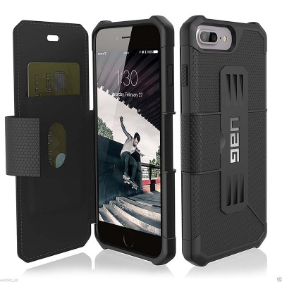iPhone 8/7/6s/6 Plus UAG Metropolis Feather-Light Case Black