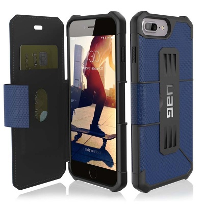 iPhone 8/7 Plus UAG Metropolis Feather-Light Case Cobalt