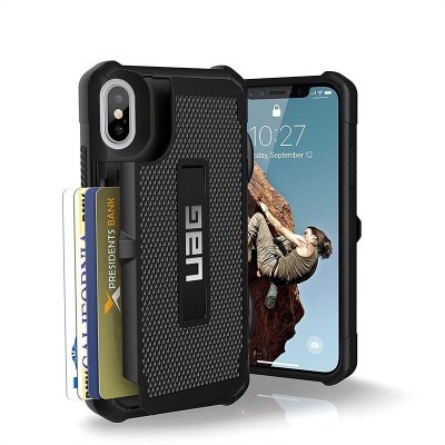 iPhone X UAG Trooper Series Case Black